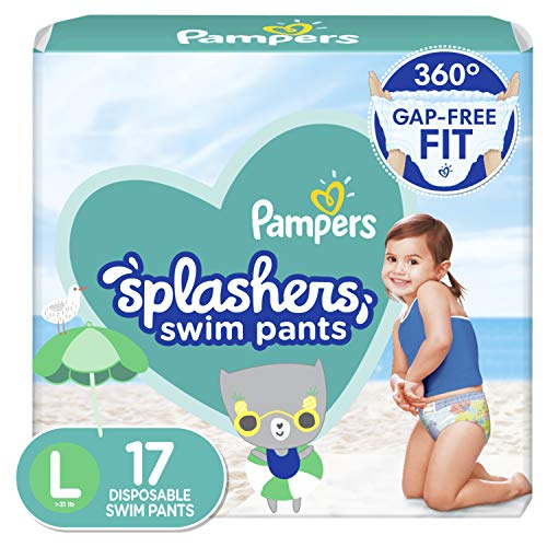 Pampers Splashers Swim Diapers Size 5 17 Count