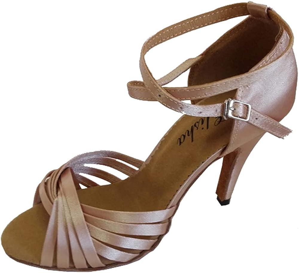 N / A 4 Inches Heel Women's Latin Salsa Open Toe Socials Party Ballroom Wedding Dance Shoe Sandals More Colors