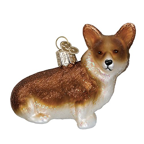 Old World Christmas Pembroke Welsh Dog Collection Glass Blown Ornaments for Christmas Tree