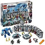 LEGO Super Heroes - Iron Man: Sala de Armaduras, Juguete de Construcción de la Colección de Trajes de Combate de Tony...