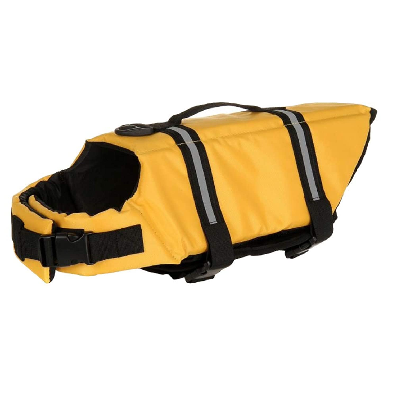 SPACE-Z 犬用 ライフジャケット 救命胴衣 安心安全 胴輪 小型犬 中型犬 大型犬 3色 Sサイズ イエロー