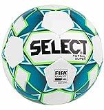 SELECT Super Ballon de futsal I Blanc/Bleu I official size