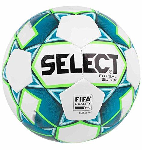 SELECT Super Palloncino da futsal I, ufficiale, colore: bianco/blu