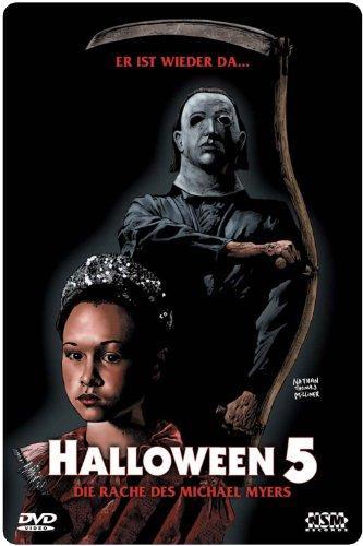 Halloween 5 - uncut - limitiertes 3D Starmetalpak [Alemania] [DVD]