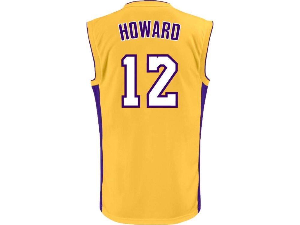 NBA Los Angeles Lakers Replica Jersey, #12 Dwight Howard, Gold ...