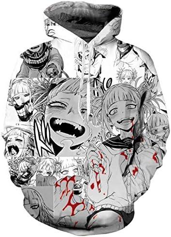 Brocade Carp My Hero Academia Himiko Toga Child Top Hoodies