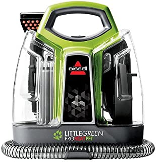 BISSELL Little Green ProHeat Pet Deluxe Carpet Cleaner with Trial Size Bottles