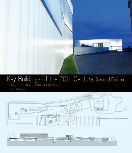 Key Buildings of the 20th Century: Plans, Sections and Elevations (Second Edition) (Key Architecture Series)