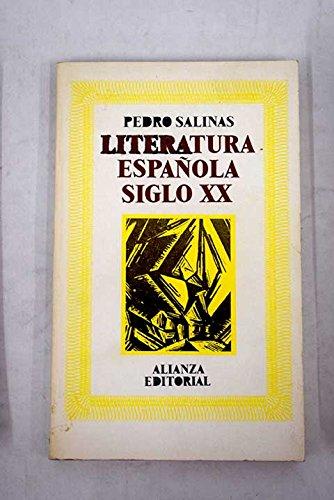Literatura española, siglo XX