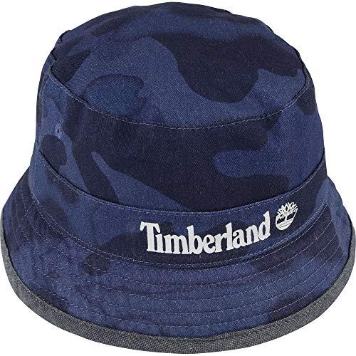 Timberland - Bob reversible de algodón azul añil 180 cm