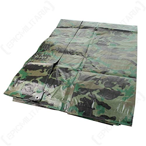 Mil-Tec Bâche agricole de camouflage (2 x 3 m)