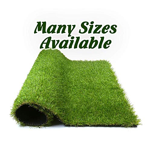 Forest Grass 4FT X 7FT Artificial Carpet Fake Grass Synthetic Thick Lawn Pet Turf for Dogs Perfect for Indoor/Outdoor, 4' x 7' = 28 Square', Green