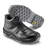 Sika 202510 Chaussures de sécurité avant S2 SRC – Idéal pour les hôtels / restaurants / cantine, industrie pharmaceutique et alimentaire - Noir - Noir , 49 EU