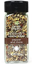 Simply Organic Spice Right Everyday Blends Pepper & More, Certified Organic, Vegan | 2.2 oz