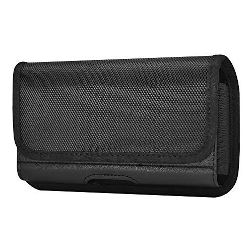 Gurteltasche aus Nylon mit Gurtelclip fur iPhone 12 Pro Max 11 Pro Max Samsung Galaxy A10S A31 A30S A51 S10 S9 Plus LG V50 V40 G8X ThinQ Stylo 5X 5 4 Nokia 72 62