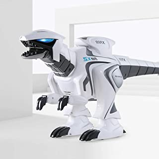 Robot Dinosaur Intelligent Interactive Smart Toy Electronic Remote Controller Robot Walking Dancing Singing with Fight Mod...