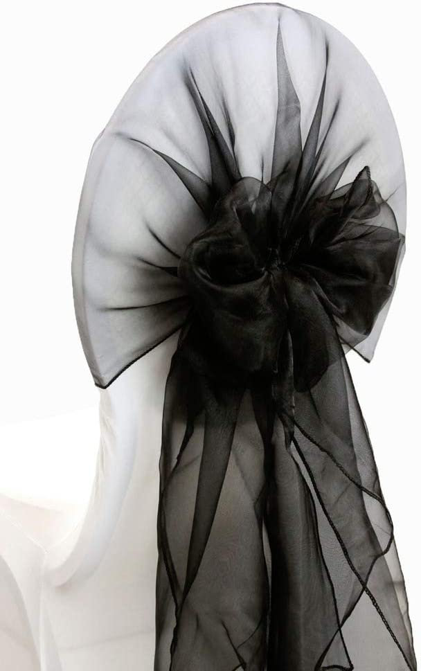 mds Pack Department store of 75 Organza Hood Sashes Chair sash Bows Animer and price revision Hoods