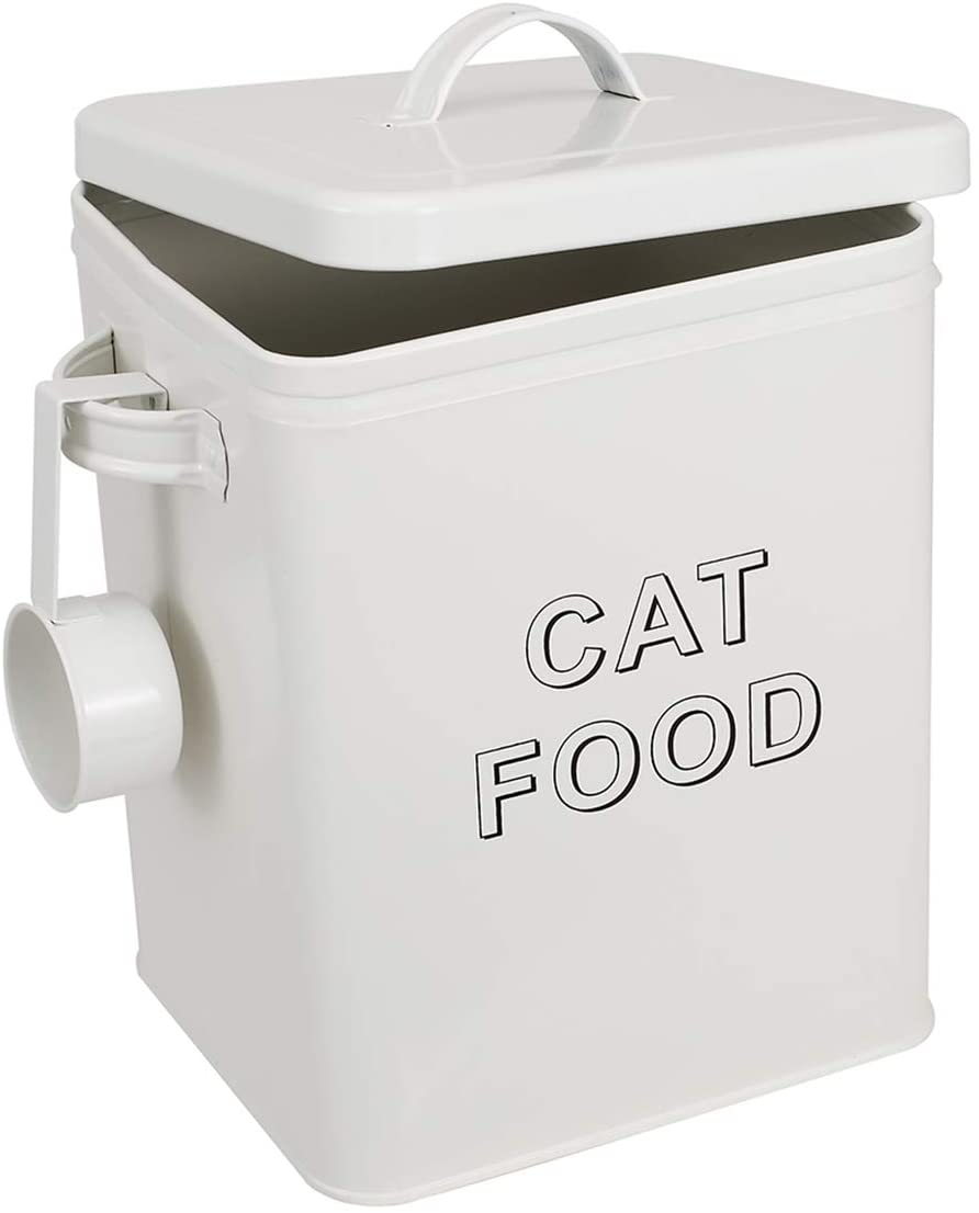 Pethiy Cat Food and Treats Containers Scoop Cats Max Sale price 64% OFF Set for with or