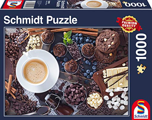 Schmidt Spiele 58293 58293-Süße Pause, 1000 Teile Puzzle, bunt