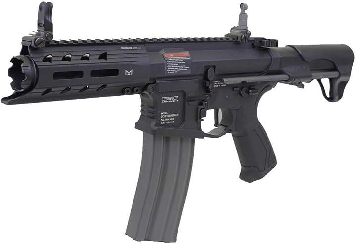 g1 fucile softair 0.9 joule elettrico aeg arp 556 full metal black g&g (gg-egc-arp-556-bnb) b07h9cpqrp