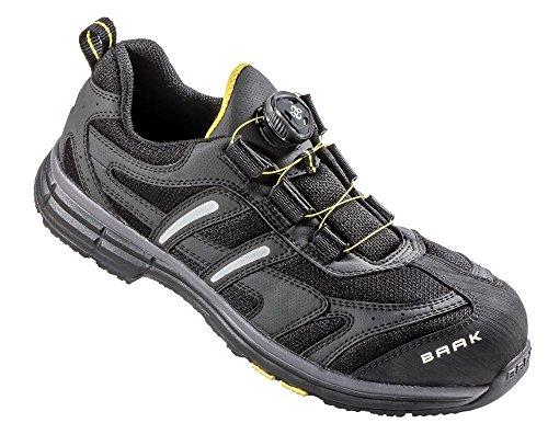 Baak 5082 zapato de seguridad S1 capitán John negro / gris Gr. 39
