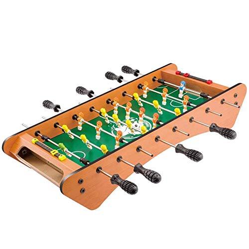 WCJ Tafelvoetbalspel Houten Children's Tafelvoetbal Machine, Table Toys, interactieve speeltafel, 61x28x11.5cm