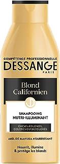 Dessange – Blond California szampon do włosów blond, kolor lub zaawansowany Eclaircis – 250 ml – 1 sztuka