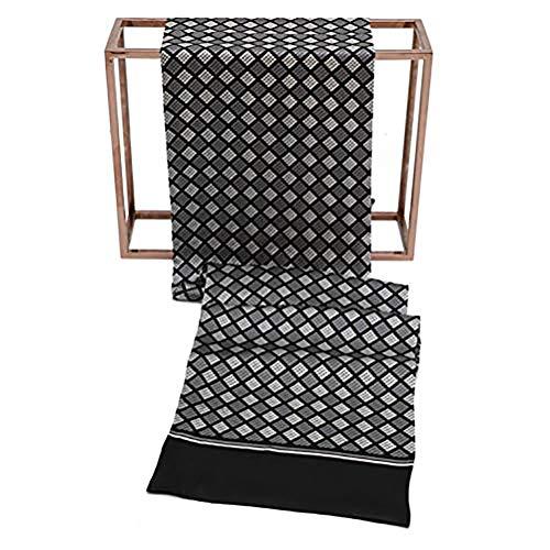 Seidenschal, Herrenschal Seidentuch Krawatte Schal zum Binden Herrentuch Paisley Muster 100% reine Seide Alternative zur Krawatte Geeignet für Festliche Veranstaltungen für Gentleman