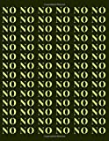 NO: Say NO! A Notebook for contesters. For everyone who want to make use of dotted backround (Dotts Matter)