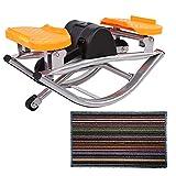 Wakects Fitness Stepper per casa e Ufficio, Mini Stepper con Display LCD, Up-Down-Stepper, per...