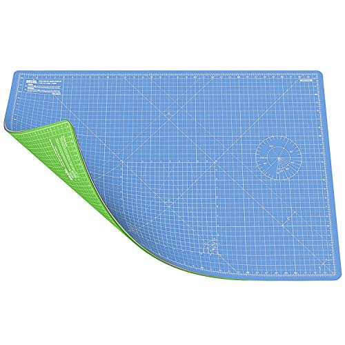 Schneidematte Selbstheilende A1 Doppelseitige (Himmelblau/Limettengrün)