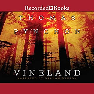Vineland audiobook cover art