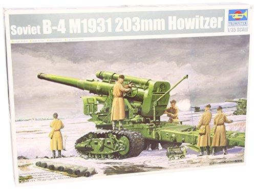 Trumpeter 2307 - Obice Russian Army B-4 M1931, 203 mm