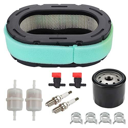 Careland 32 083 09-S Air Filter for Kohler 32 883 09-S1 KT610 KT620 KT715 KT725 KT730 KT735 KT740 KT745 19HP-26HP Engine MTD Lawn Mower + 12 050 01-S Oil Filter Tune Up Kit
