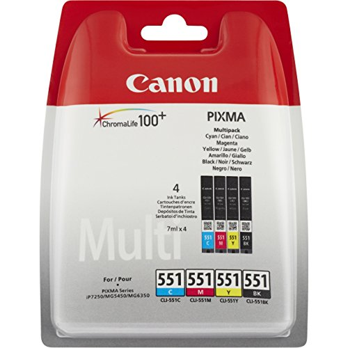 Canon CLI-551 CMYK 4PACK Tintenpatrone