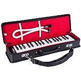Mugig Melódica 37 teclas, amplia gama F-F3, más canciones disponibles, fácil de controlar, adecuado para la enseñanza, el rendimiento, la iluminación del piano