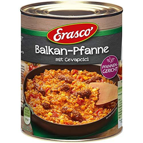 Erasco Pfannengericht: Balkan-Pfanne mit Cevapcici, 2er Pack (2 x 800 g)