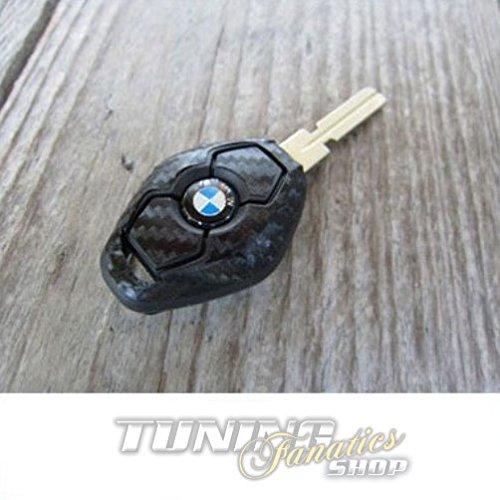 Schlüssel Carbon Design Dekor Folie Aufkleber Sticker in Schwarz