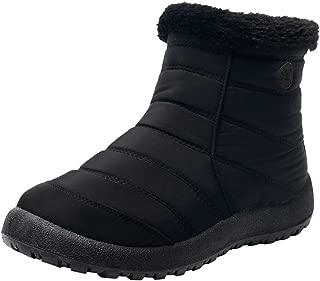 Snow Boots,Women's Winter Ankle Short Bootie Waterproof Footwear Warm Shoes