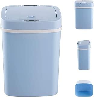 NINESTARS スマートセンシング ゴミ箱 ベビーおむつ 消臭 おむつ処理ペール 紙おむつ処理 生ごみとペットおむつ シーツ処理 強力防臭抗菌(ブルー)
