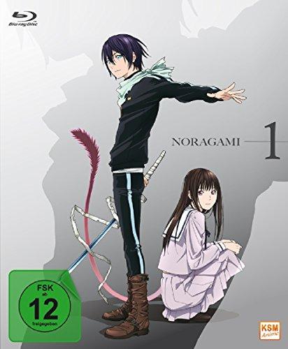 Noragami - Episode 01-06 (Digipack im transparenten Kunststoff Zier-Schuber als Limited Edition mit 5 YEN Münze) [Blu-ray]