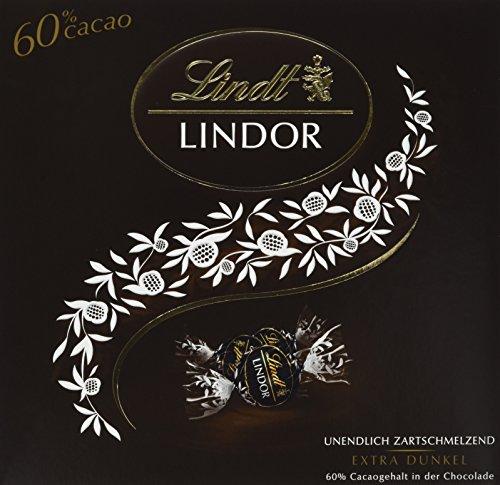 Lindt & Sprüngli Lindor Päsent Box, Dark 60%, (186 g)