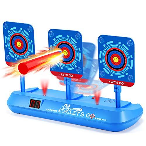 Dreamingbox Juguetes Niños 5-13 Años, Objetivo Digital Nerf Regalos Niño 6 7 8 9 10 Años Niños Pistolas Nerf Juguete Niña 5-14 Años Regalos para Niños de 6 a 12 Años
