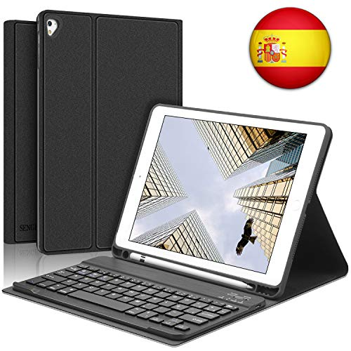 SENGBIRCH iPad Teclado Funda
