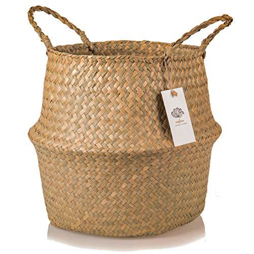 cesta seagrass fabricante Ecofinia