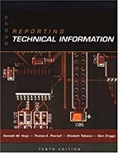 By Kenneth W. Houp - Reporting Technical Information (10th Edition) (2001-09-07) [Paperback]
