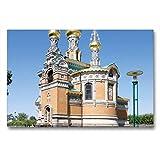CALVENDO Premium Lienzo 90 cm x 60 cm Horizontal, Paleta Rusa St. Maria Magdalena, Imagen sobre Lienzo, impresión en Lienzo (calvento Lugar)