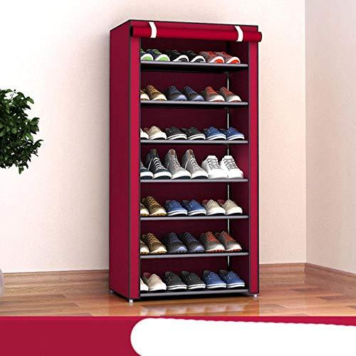 Gran venta tela no tejida estante de zapatos montar zapatos estante DIY casa re-30X60X123CM,China