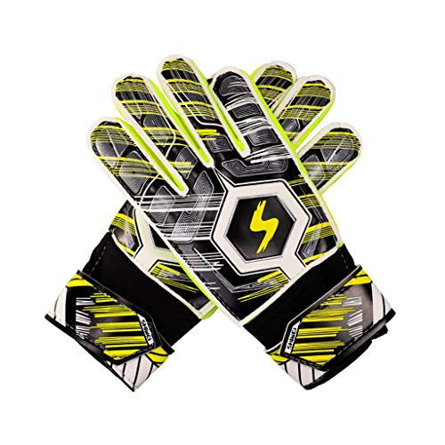 SUCES Outdoor Sports Handschuhe Kinder Fußball Torwart Goalie-Training Fäustlinge Leichte Anti-Rutsch Laufen Handschuhe Touchscreen Handschuhe für Jungen und Mädchen