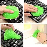 DooppaReiniger für Tastaturen, wiederverwendbar, entfernt Schmutz/Staub, für Mobiltelefone/Computer, zufällige Farbe, 2 Stück